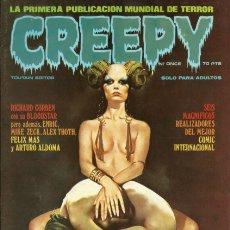 Cómics: CREEPY PRIMERA ÉPOCA NÚMERO 11. Lote 221842248