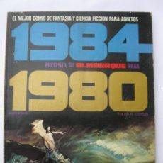 Cómics: 1984 - ALMANAQUE PARA EL AÑO 1980 - TOUTAIN EDITOR - AÑO 1979.. Lote 221876390