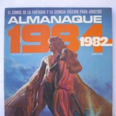 Cómics: 1984 - ALMANAQUE PARA EL AÑO 1982 - TOUTAIN EDITOR - AÑO 1981.. Lote 221876580