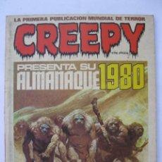 Cómics: CREEPY - ALMANAQUE PARA EL AÑO 1980 - TOUTAIN EDITOR - AÑO 1979.. Lote 221889706