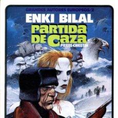 Cómics: PARTIDA DE CAZA (GRANDES AUTORES EUROPEOS / NÚMERO 2) - TOUTAIN (ENKI BILAL). Lote 221920121