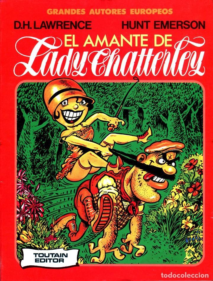 EL AMANTE DE LADY CHATTERLEY (GRANDES AUTORES EUROPEOS / NÚMERO 7) - TOUTAIN (D. H. LAWRENCE) (Tebeos y Comics - Toutain - Álbumes)