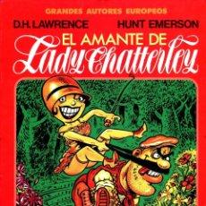 Cómics: EL AMANTE DE LADY CHATTERLEY (GRANDES AUTORES EUROPEOS / NÚMERO 7) - TOUTAIN (D. H. LAWRENCE). Lote 221921501