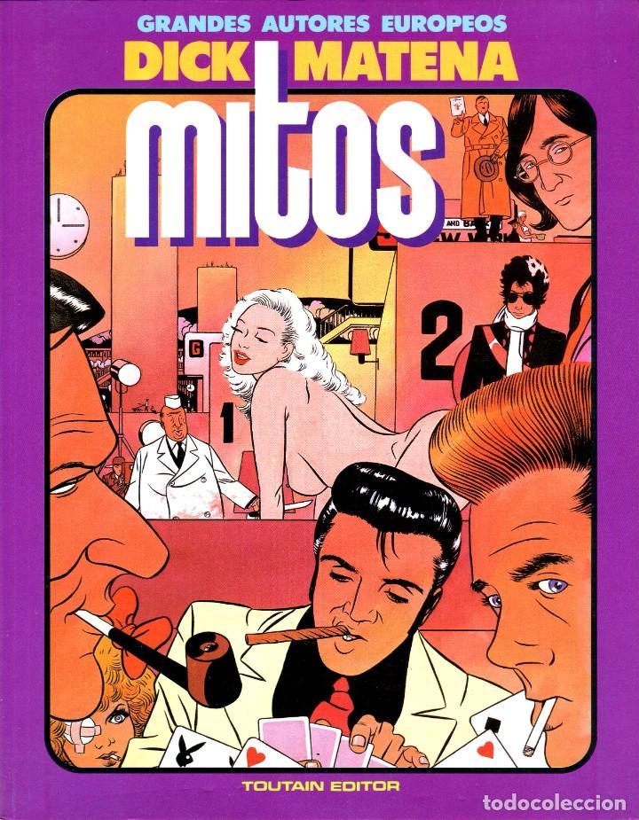 MITOS (GRANDES AUTORES EUROPEOS / NÚMERO 8) - TOUTAIN (DICK MATENA) (Tebeos y Comics - Toutain - Álbumes)