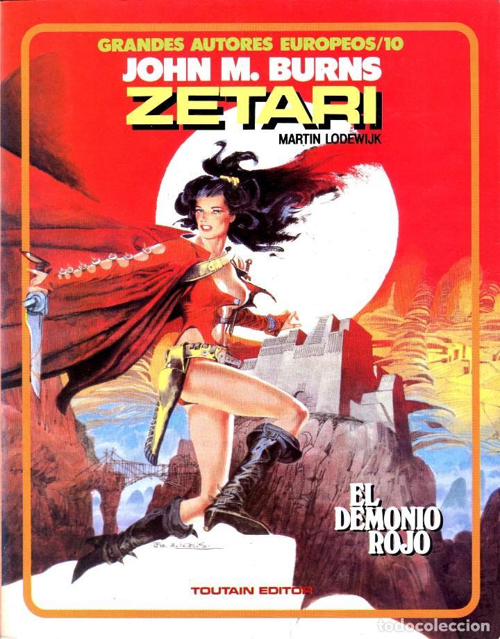 ZETARI (GRANDES AUTORES EUROPEOS / NÚMERO 10) - TOUTAIN (LODEWIJK / BURNS) (Tebeos y Comics - Toutain - Álbumes)