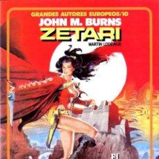 Cómics: ZETARI (GRANDES AUTORES EUROPEOS / NÚMERO 10) - TOUTAIN (LODEWIJK / BURNS). Lote 221922025