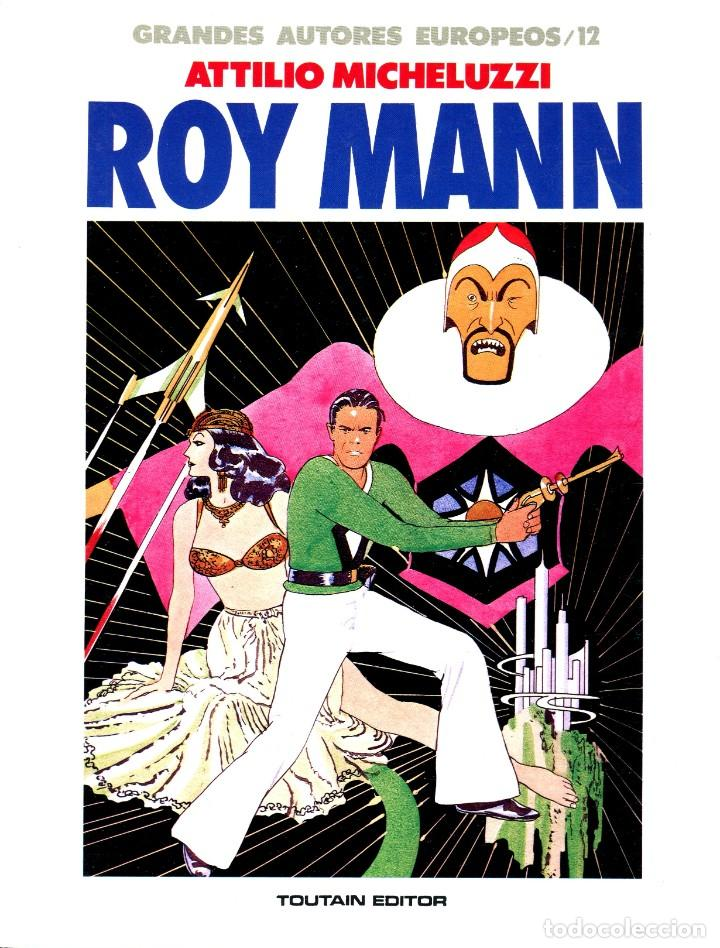 ROY MANN (GRANDES AUTORES EUROPEOS / NÚMERO 12) - TOUTAIN (SCLAVI / MICHELUZZI) (Tebeos y Comics - Toutain - Álbumes)