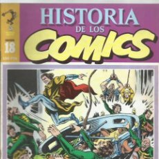 Cómics: HISTORIA DE LOS COMICS 18, 1982, TOUTAIN, MUY BUEN ESTADO. Lote 221957282