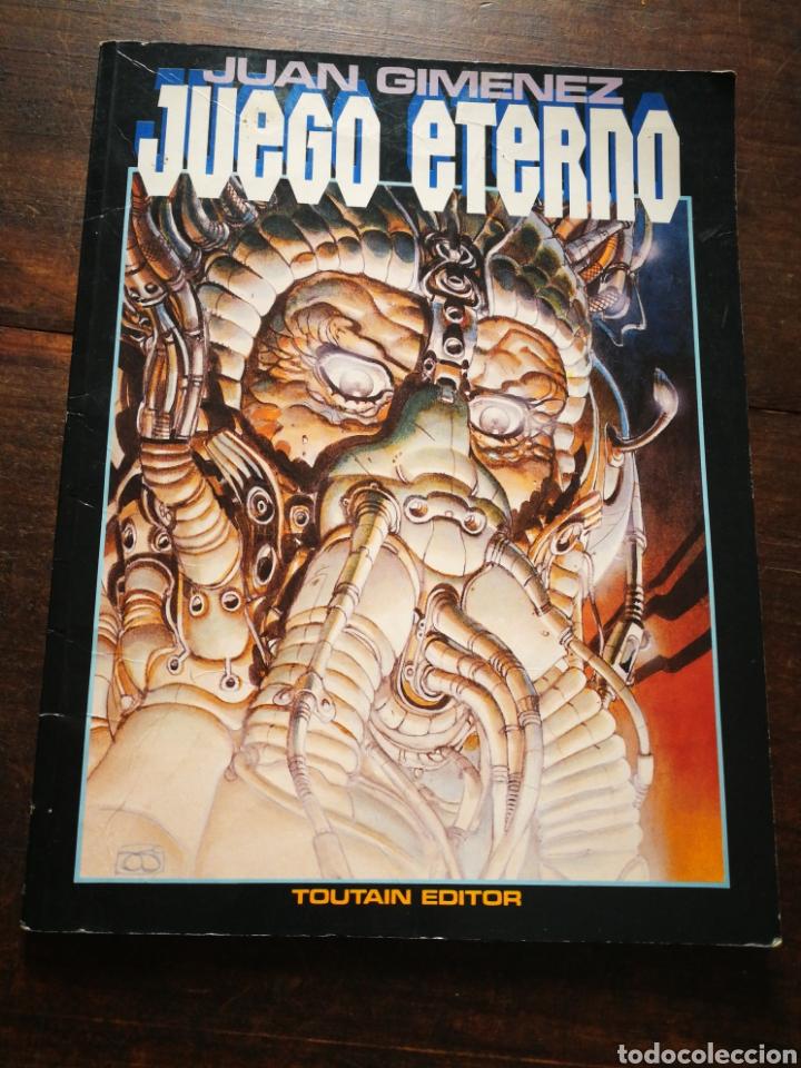 JUEGO ETERNO- JUAN GIMÉNEZ, TOUTAIN EDITOR (CIENCIA FICCIÓN), 1987. (Tebeos y Comics - Toutain - Otros)