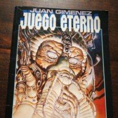 Cómics: JUEGO ETERNO- JUAN GIMÉNEZ, TOUTAIN EDITOR (CIENCIA FICCIÓN), 1987.. Lote 222011012
