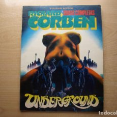 Cómics: RICHARD CORBEN - OBRAS COMPLETAS - UNDERGROUND - TOUTAIN EDITOR - BUEN ESTADO. Lote 222012765