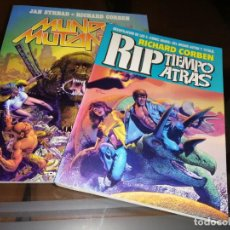 Cómics: RICHARD CORBEN MUNDO MUTANTE & RIP TIEMPO ATRAS TOUTAIN EDITOR. Lote 222290975