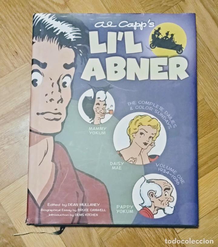 LI'L ABNER: THE COMPLETE DAILIES AND COLOR SUNDAYS, VOL. 1: 1934-1936 (INGLÉS) (Tebeos y Comics - Toutain - Álbumes)
