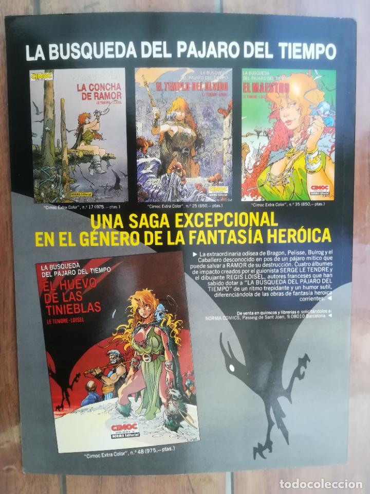 Cómics: CIMOC. ESPECIAL JUEGOS PELIGROSOS. TOUTAIN - Foto 2 - 222617062
