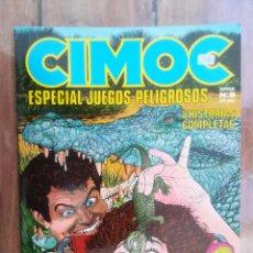Cómics: CIMOC. ESPECIAL JUEGOS PELIGROSOS. TOUTAIN. Lote 222617062