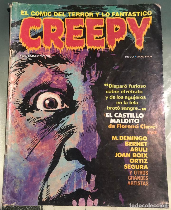 'CREEPY', Nº 70. 1ª ÉPOCA. 1985. TOUTAIN EDITOR. (Tebeos y Comics - Toutain - Creepy)