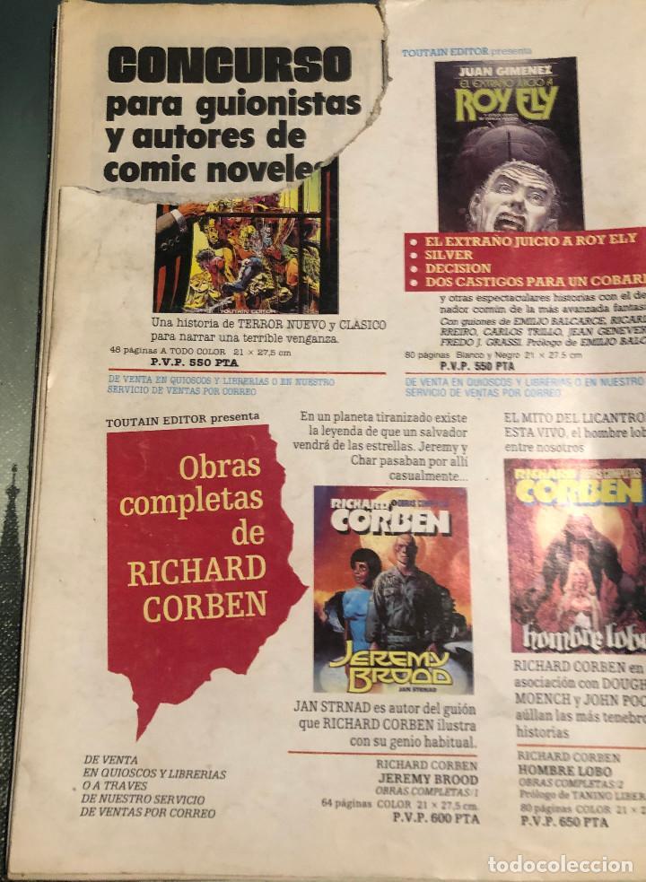 Cómics: Creepy, nº 70. 1ª época. 1985. Toutain Editor. - Foto 3 - 222652165