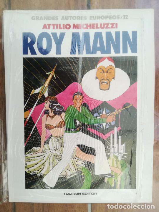 ROY MANN. ATTILIO MICHELUZZI. TOUTAIN (Tebeos y Comics - Toutain - Álbumes)