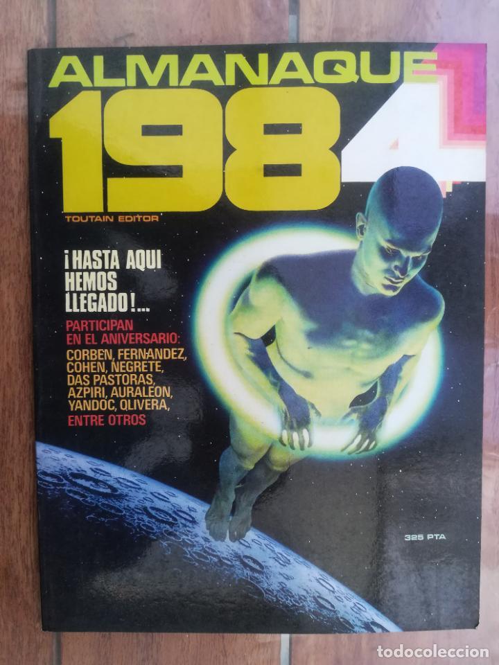 1984. ALMANAQUE 1983. TOUTAIN (Tebeos y Comics - Toutain - 1984)