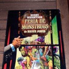 Comics : FERIA DE MONSTRUOS, BERNUE WRIGHTSON Y BRUCE JONES, TOUTAIN. Lote 223403636