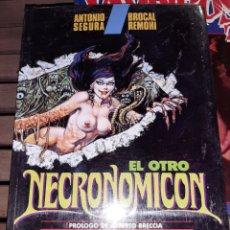 Cómics: EL OTRO NECRONOMICON, TOUTAIN, NUEVO SIN DESPRECINTAR. Lote 223514958