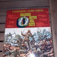 Cómics: GRANDES MITOS DEL OESTE 2, JOSÉ ORTIZ, TOUTAIN. Lote 223517386