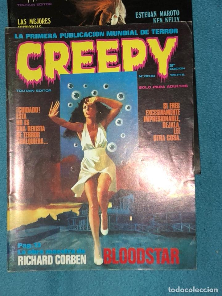 Cómics: Lote de 3 revistas creepy - Foto 3 - 223681671