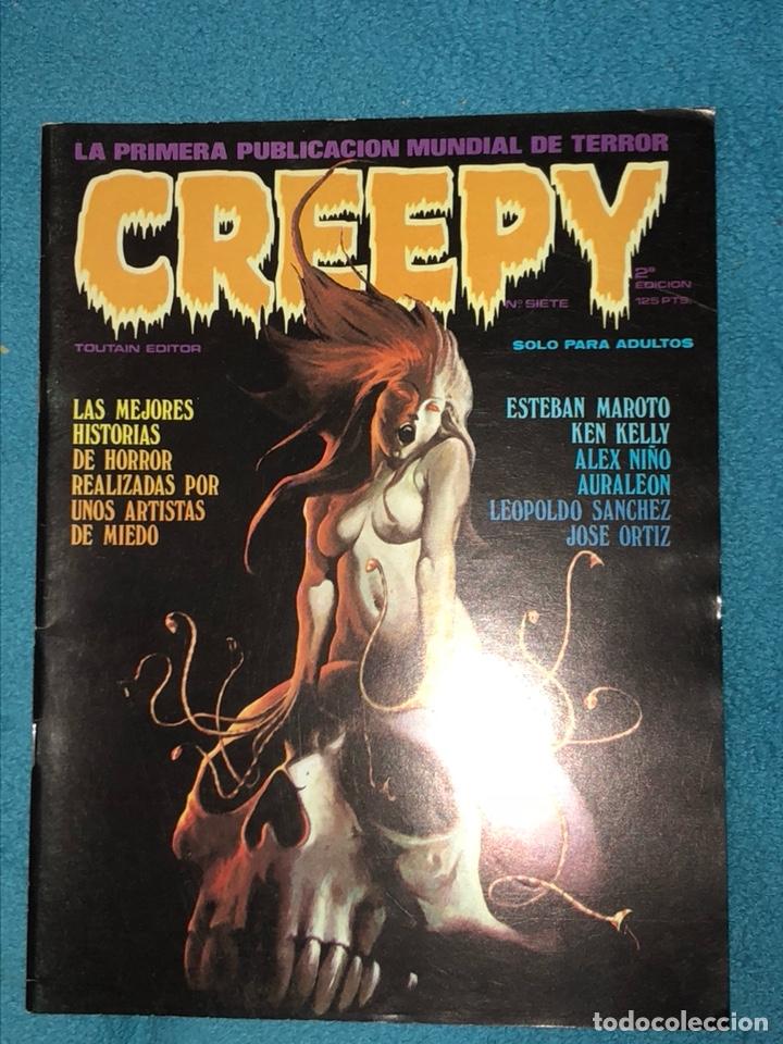 Cómics: Lote de 3 revistas creepy - Foto 4 - 223681671