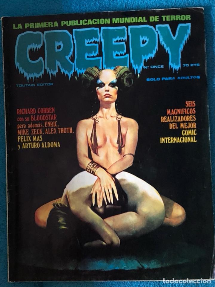 Cómics: Lote de 3 revistas creepy - Foto 5 - 223681671