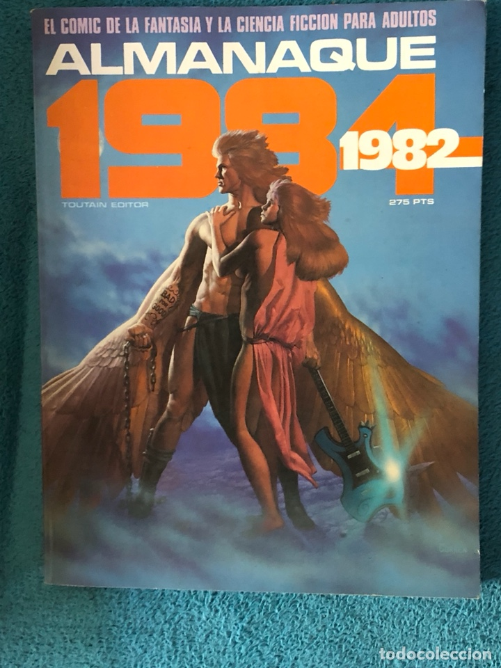 ALMANAQUE 1982 (Tebeos y Comics - Toutain - 1984)