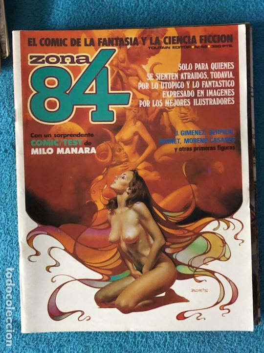 Cómics: Lote de revistas 1984 y 84 - Foto 5 - 223682862