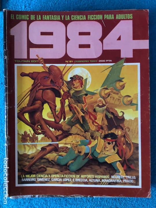 Cómics: Lote de revistas 1984 y 84 - Foto 8 - 223682862