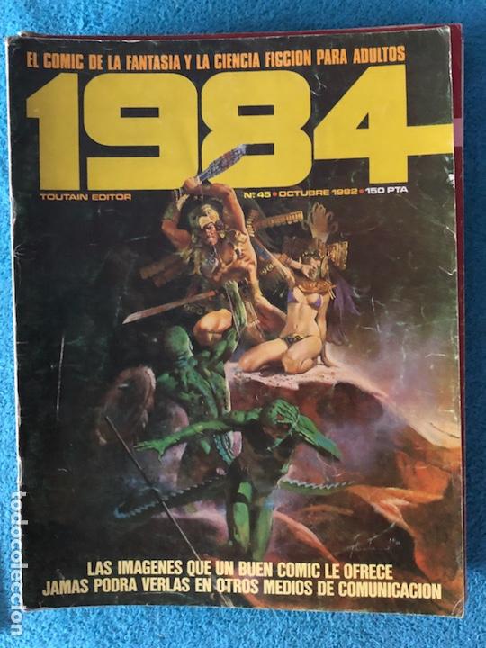 Cómics: Lote de revistas 1984 y 84 - Foto 9 - 223682862