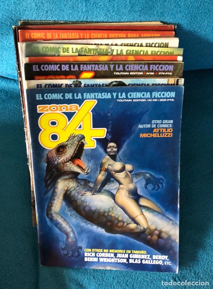 LOTE DE REVISTAS 1984 Y 84 (Tebeos y Comics - Toutain - Zona 84)