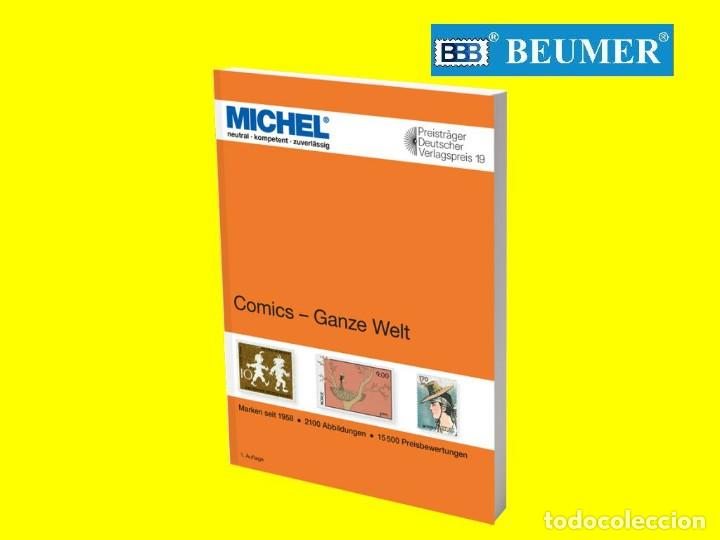 CATÁLOGO MICHEL, DE MOTIVOS DE COMICS DE TODO EL MUNDO. (Tebeos y Comics - Toutain - 1984)