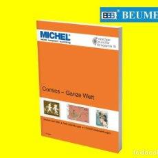 Cómics: CATÁLOGO MICHEL, DE MOTIVOS DE COMICS DE TODO EL MUNDO.. Lote 223779581