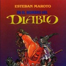 Cómics: EN EL NOMBRE DEL DIABLO (ESTEBAN MAROTO) TOUTAIN - MUY BUEN ESTADO - OFM15. Lote 247281835
