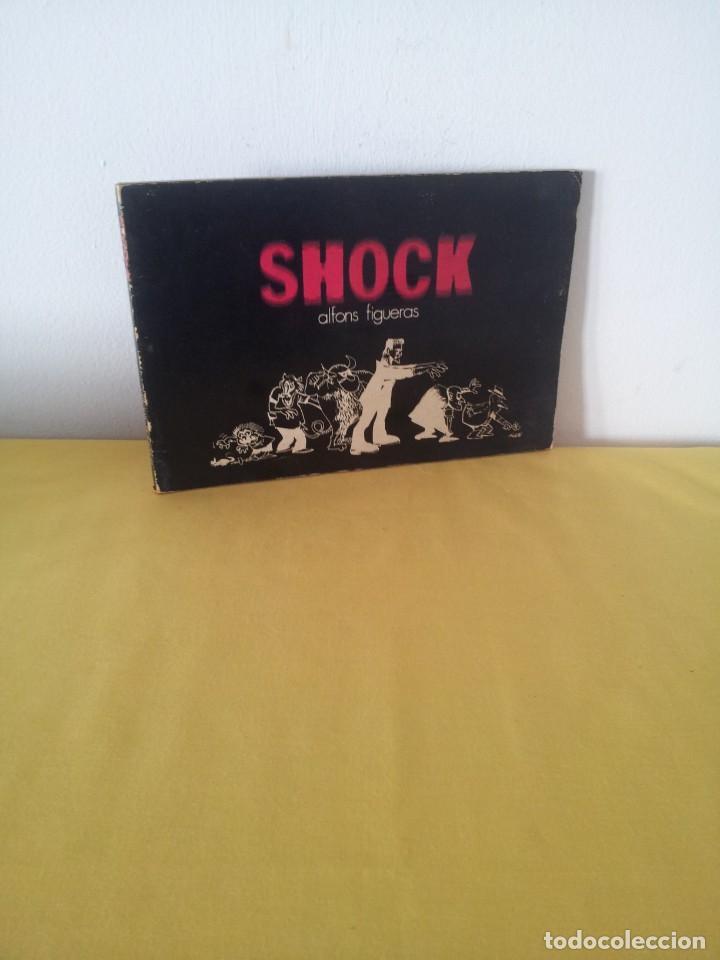 ALFONS FIGUERAS - SHOCK - JOSE TOUTAIN EDITOR 1973 (Tebeos y Comics - Toutain - Otros)
