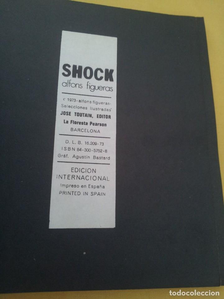 Cómics: ALFONS FIGUERAS - SHOCK - JOSE TOUTAIN EDITOR 1973 - Foto 3 - 224143797