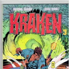 Comics : * KRAKEN Nº 3 * ANTONIO SEGURA - JORDI BERNET * TOUTAIN EDITOR 1989 * IMPECABLE *. Lote 224171258