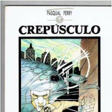 Cómics: * PASQUAL FERRY * CREPÚSCULO * TOUTAIN EDITOR 1989 *. Lote 224240341