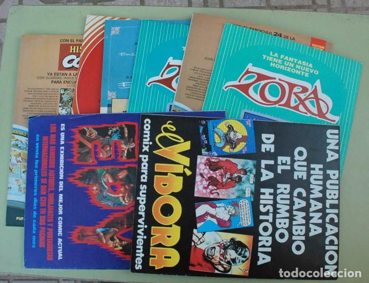 Cómics: LOTE 17 Historia de los comics fasciculos - Toutain Editor - Foto 2 - 224360373