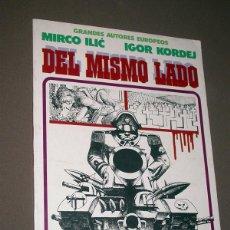 Cómics: GRANDES AUTORES EUROPEOS Nº 6. MIRCO ILIC, IGOR KORDEJ. DEL MISMO LADO. TOUTAIN EDITOR, 1987.. Lote 224511563
