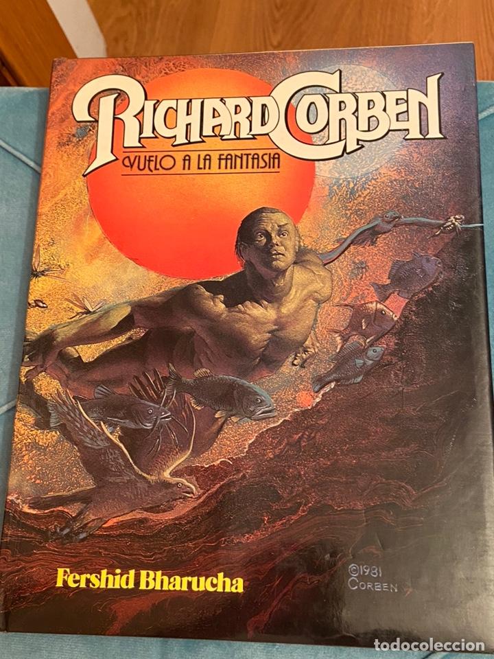 RICHARD CORBEN VUELO A LA FANTASÍA 1981 TAPA DURA (Tebeos y Comics - Toutain - Obras Completas)