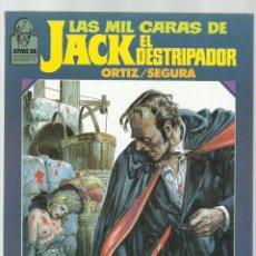 Cómics: LAS MIL CARAS DE JACK EL DESTRIPADOR, 1986, TOUTAIN, BUEN ESTADO. Lote 225611762