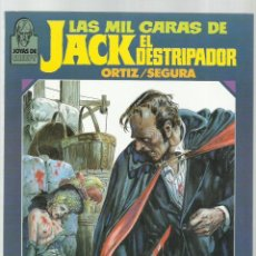 Comics : LAS MIL CARAS DE JACK EL DESTRIPADOR, 1986, TOUTAIN, BUEN ESTADO. Lote 225611762