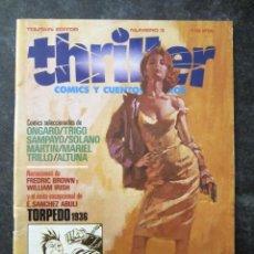 Cómics: CÓMIC THRILLER N. 3 - TOUTAIN EDITOR. Lote 226412130