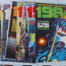 Cómics: 1984 1 A 11 SEGUNDA EDICION. Lote 226441881