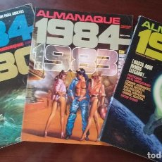 Cómics: LOTE ALMANAQUES COMIC 1984 (1980, 1983 Y 1984). Lote 226594180