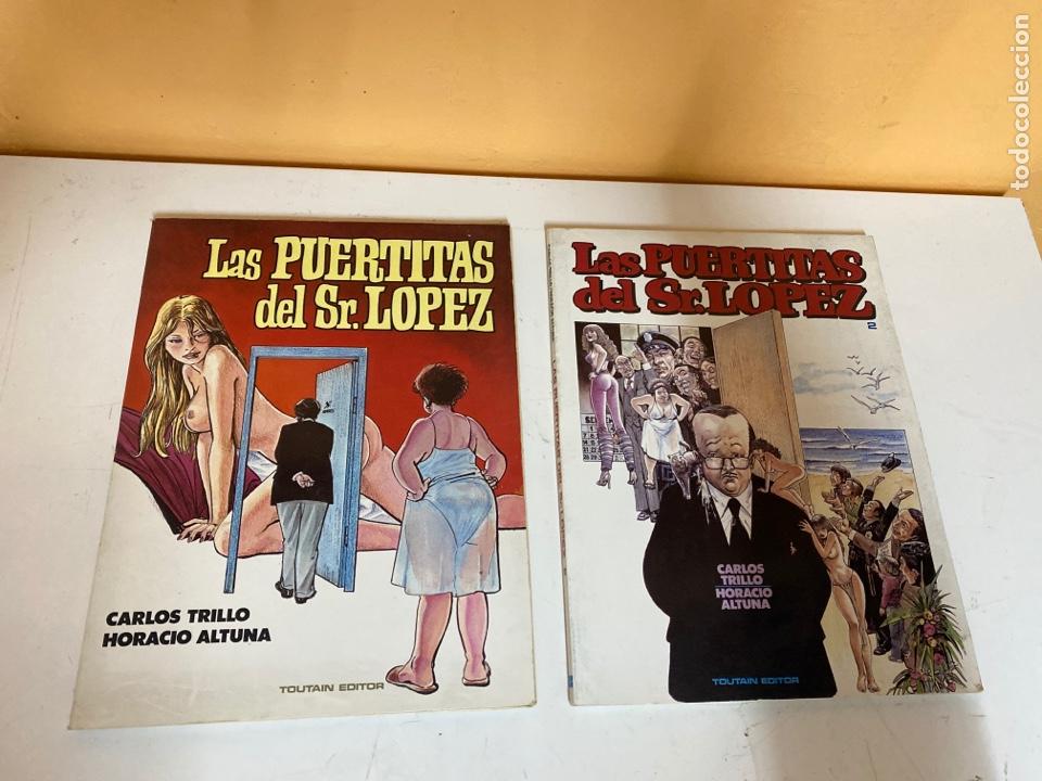 LAS PUERTITAS DEL SR. LOPEZ (Tebeos y Comics - Toutain - Obras Completas)